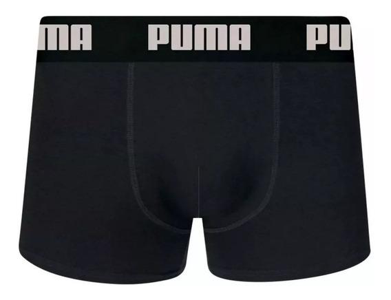 Kit 4 Cuecas Boxer Puma Cotton Original Com Nota!!!