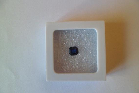 Safira Azul Lapidação Carré 2 Ct