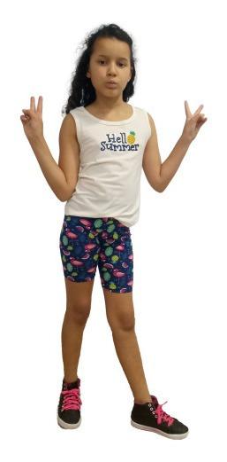 Roupa Infantil Menina Kit Com 6 Conjuntos Roupas Juvenil
