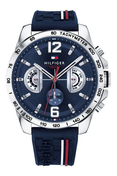 Reloj Tommy Hilfiger Decker 1791476 Hombre Envio Gratis
