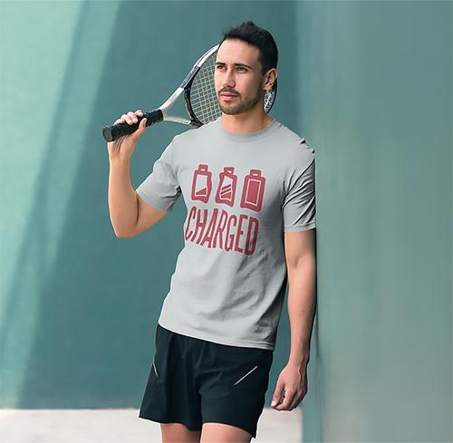 Imagem 1 de 2 de Camiseta Charged