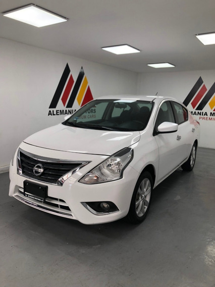 Nissan Versa 1.6 Advance Mt 2017 Blanco