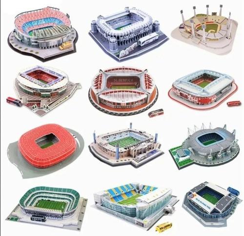 Rompecabezas 3d Estadios Del Mundo