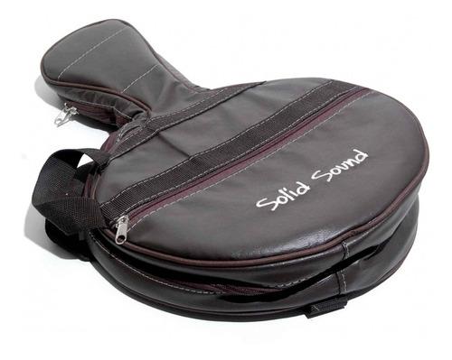 Capa Bag Solid Sound Banjo Lt Br Couro Sintético