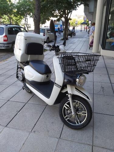 Moto Delivery Eléctrica Sunra Caggo Bajo Mantenimiento V