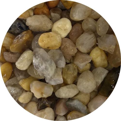 Pedras Ornamentais Seixo Campos Do Jordão Tam Feijão 4,0kg