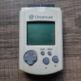 Vmu Origina Memory Card Jp P/ Sega Dreamcast Ref C1179
