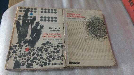 Livros Em Alemao Sobre Energia Atomica 02 Unidades