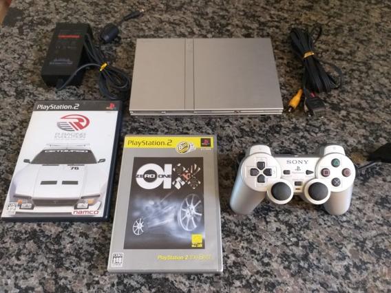 Playstation 2 Cinza Bloqueado Com Lacre Da Sony Nunca Rompid