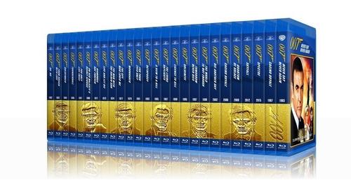 James Bond Blu-ray - Colección Completa - James Bond 007