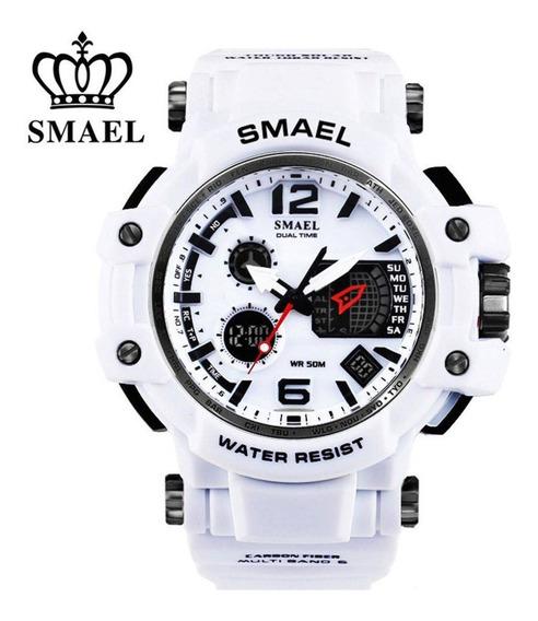 Relógio Masculino Smael Militar Digital Esportivo Promoção