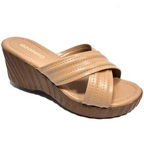 475609716 Tamanco Plataforma Azaleia Anabela - Sapatos no Mercado Livre Brasil