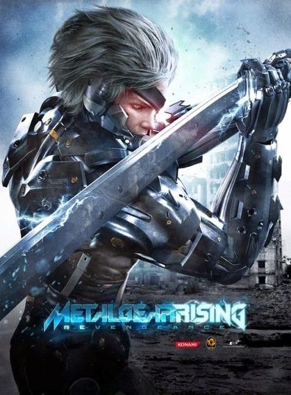 Metal Gear Rising Revengeance Pc - Envio Rápido (steam Key)