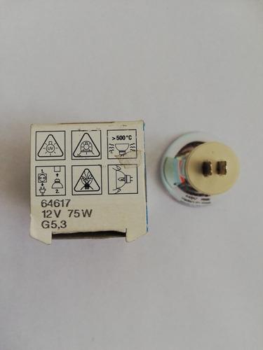 Imagen 1 de 2 de Foco Display Optic 64617 75 Watts 12v Curado Dental Osram