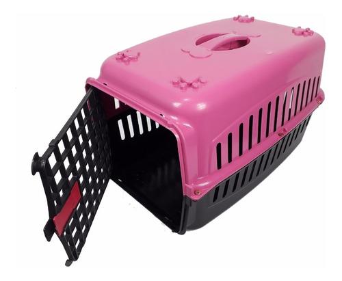 Caixa De Transporte Para Gatos Coelho Cão Pequeno Nº1 12kg