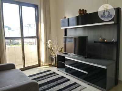 Apartamento Com 1 Dormitório À Venda, 49 M² Por R$ 205.000 - Canto Do Forte - Praia Grande/sp - Ap9748