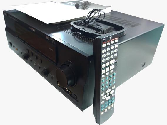 Receiver Yamaha 7.1 3 X Hdmi 9 Canais Absurdamente Zero