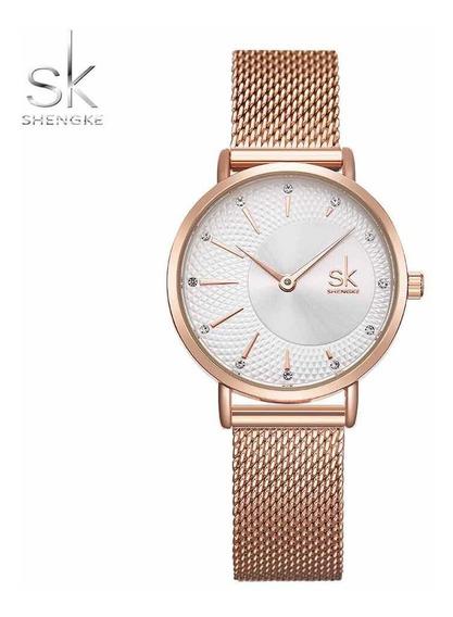 Relógio Feminino Luxo Sk