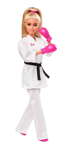 Barbie Careers, Muñeca Olimpiadas Karateca