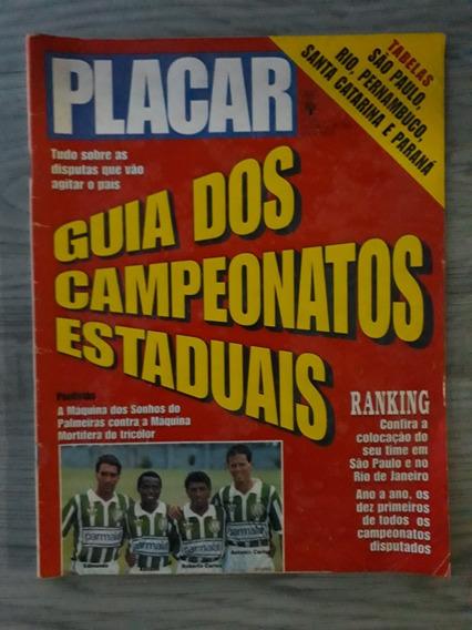 Revista Placar. Guia Campeonatos Estaduais 1993 C/ Tabelas