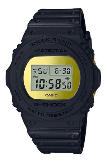 Relogios Espelhados Dourados Casio G-shock Dw-5700bbmb-1