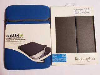 Set De Funda Y Folio Para Laptop O Tablet 10