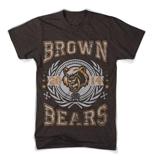 Playera Brown Bears Osos Oso Tshirt Tallas Xxl