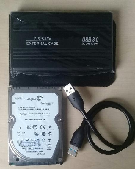 Hd Externo 320gb Sata 2.5 Com Interface 3.0 Usb