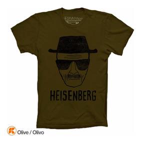 Heisenberg Breaking Bad Playera Distressed Vintage Look