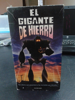 El Gigante De Hierro-the Iron Giant-2015-vhs