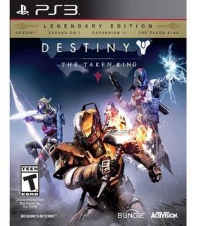 Destiny The Taken King Ps3 Edicion Legendaria Digital    Ya!