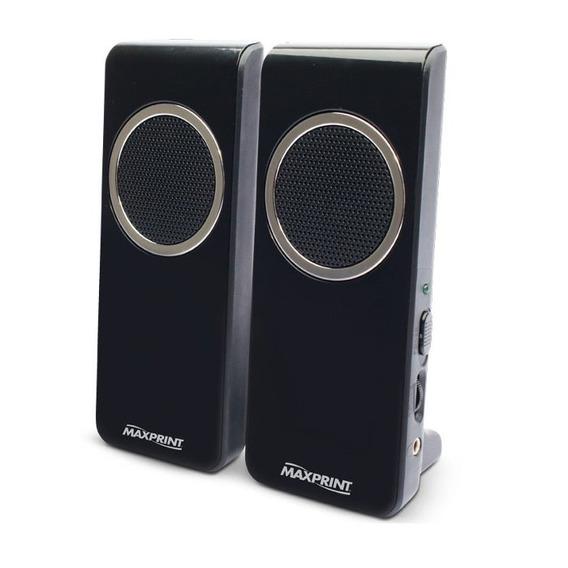 Caixa De Som Basic Usb 4w 6011296 Maxprint 22258