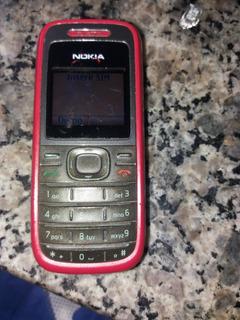 Celular Nokia 1208 Funcionando Nao Testei Chip.