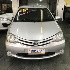Toyota Etios Xs 1.0 2013 - Carro Completo Mensais De R$ 699