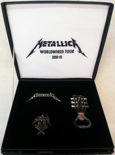 Metallica Vip Package Pin Dije Destapador Worldwired Nvx Xmk