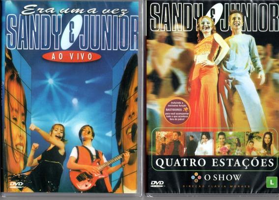 Dvd S Sandy E Júnior Era Uma Vez Ao Vivo + 4 Estações