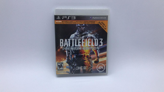 Battlefield 3 Premium Edition - Ps3 - Midia Fisica Em Cd