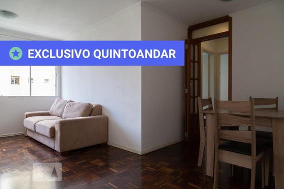 Apartamento No 4º Andar Mobiliado Com 2 Dormitórios - Id: 892969908 - 269908