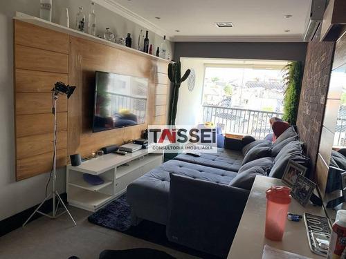 Apartamento Com 2 Dormitórios À Venda, 83 M² Por R$ 745.000,00 - Vila Gumercindo - São Paulo/sp - Ap8287