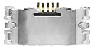 Conector Carga Micro Usb Moto G5 Plus Xt1683 Plug Original