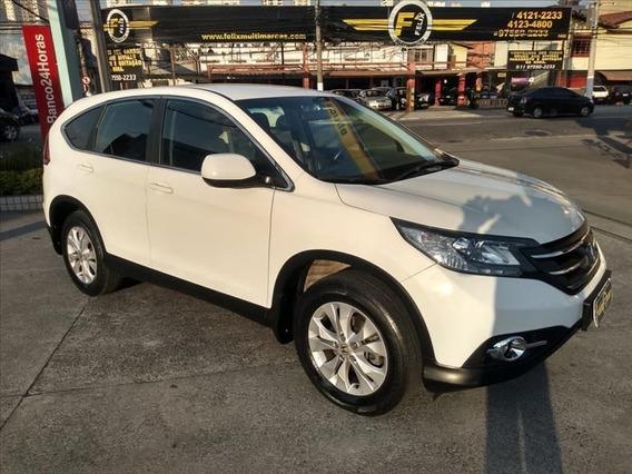Honda Crv Lx 2.0 Flex Automática 2013 Completa