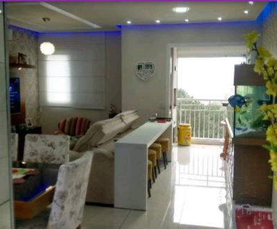 Apartamento Com 2 Dormitórios À Venda, 74 M² Por R$ 424.000 - Jardim Tupanci - Barueri/sp - Ap0032