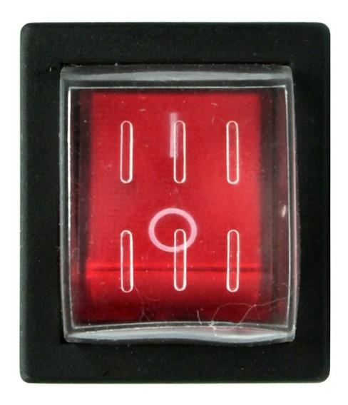 Botão Chave Selada Liga/desliga Rs-201 Vm Metaltex