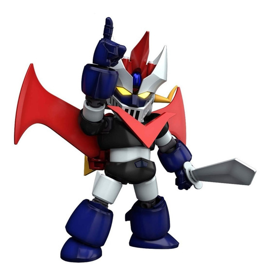 Mazinger Sd Cross Silhouette Great Mazinger