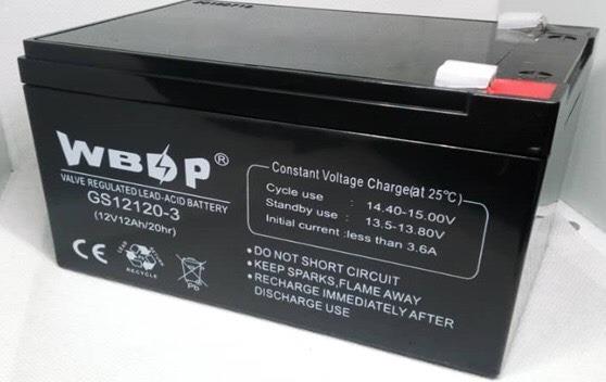 Bateria 12v 12ah Ups Lámpara Emerg Cerco Electrico