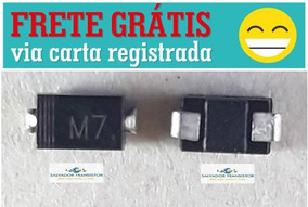 100 Unidade Diodo Smd - M7 - 1n4007 - In4007