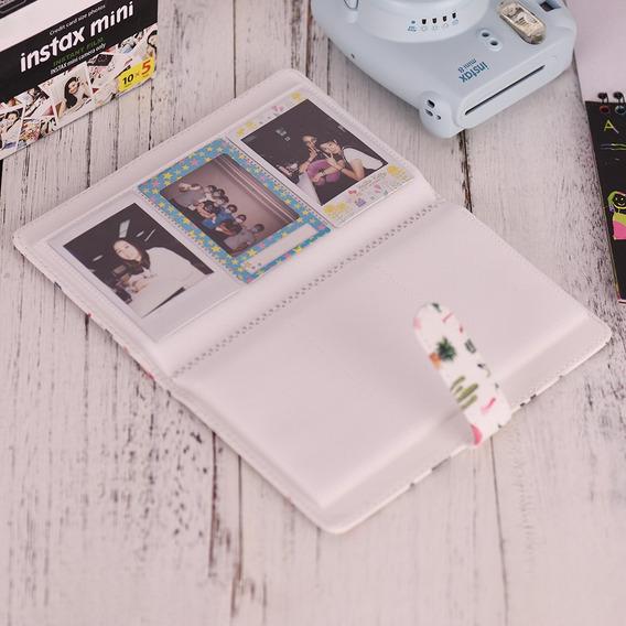 96 Bolsos Mini Foto Álbum Foto Livro Álbum Para Fujifilm