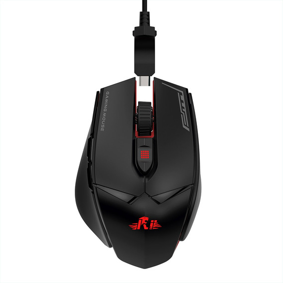 Respiração Wired Gaming Mouse 12000dpi 7 Luzesrii