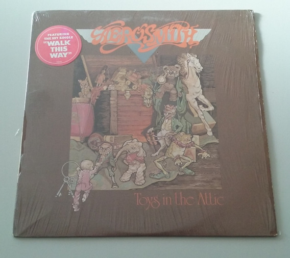 Aerosmith - Toys In The Attic Vinilo Orig. 1975