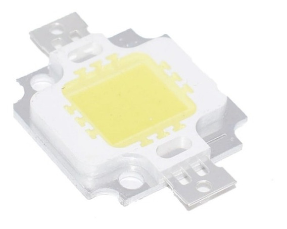 Led Blanco Calido 10w Chip Cob 9-11v 900ma